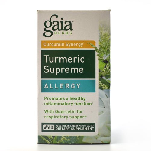 Turmeric Supreme Allergy - 60 Vegetarian Liquid Phyto-Caps