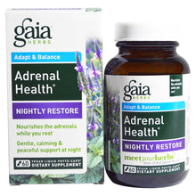 Load image into Gallery viewer, Adrenal Health Nightly Restore - 60 Vegan Liquid Phyto-Caps