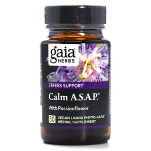 Calm A.S.A.P. - 30 Vegan Liquid Phyto-Caps