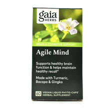 Load image into Gallery viewer, Agile Mind Liquid Phyto Capsules - 60 Vegan Liquid Phyto-Capsules