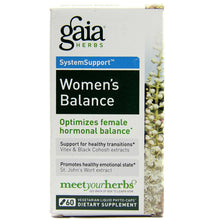 Load image into Gallery viewer, Women's Balance - 60 Vegetarian Liquid Phyto-Caps