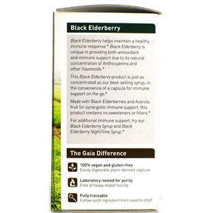 Black Elderberry - 60 Vegan Capsules