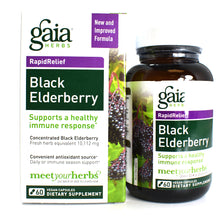 Load image into Gallery viewer, Black Elderberry - 60 Vegan Capsules