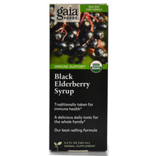 Load image into Gallery viewer, Black Elderberry Syrup Certified USDA Organic - 5.4 oz