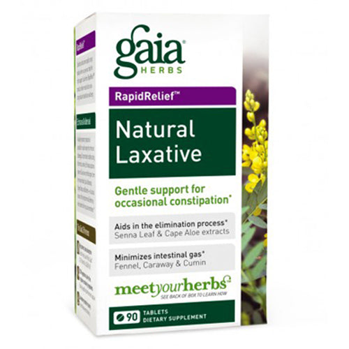 RapidRelief Natural Laxative - 90 Tablets