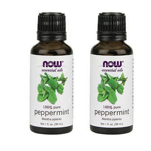 Peppermint Oil 100% Pure & Natural - 1 oz (Pack of 2)