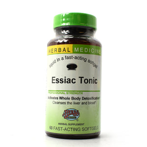 Essiac Tonic Professional Strength - 60 Softgels