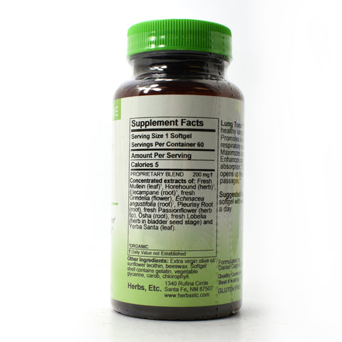 Lung Tonic Professional Strength - 60 Softgels