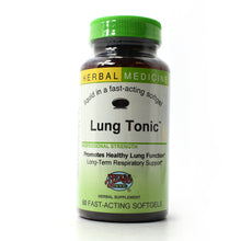 Load image into Gallery viewer, Lung Tonic Professional Strength - 60 Softgels