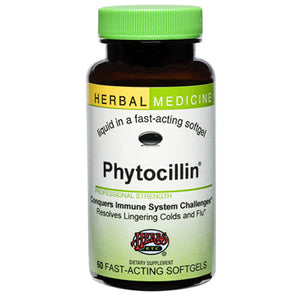 Phytocillin Alcohol Free - 60 Softgels