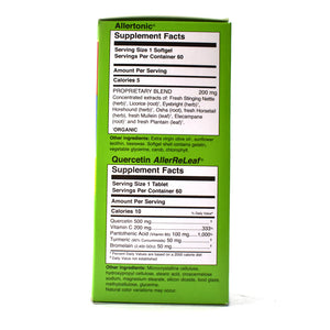 Allergy ReLeaf System Complete Formula For Seasonal and Dietary Comfort - 120 Ct