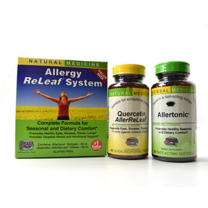 Allergy ReLeaf System Complete Formula For Seasonal and Dietary Comfort - 120 Count