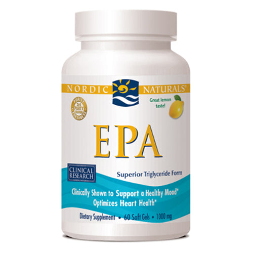 EPA Formula Lemon 1000 mg - 60 Softgels