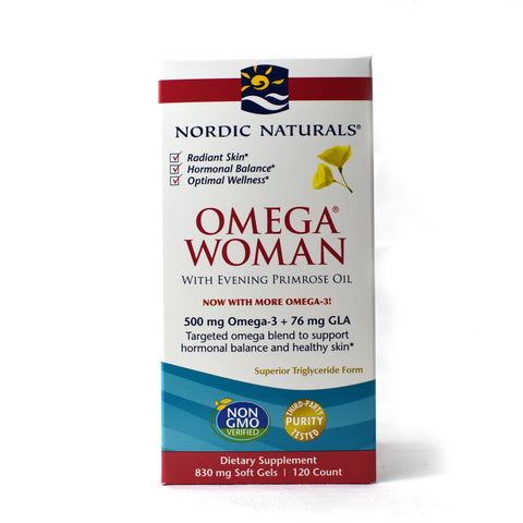 Omega Woman Evening Primrose Oil Blend Lemon 500 mg - 120 Softgels