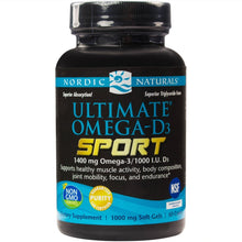 Load image into Gallery viewer, Ultimate Omega-D3 Sport - 60 Softgels