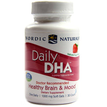 Load image into Gallery viewer, Daily DHA for Healthy Brain and Mood Strawberry 1000 mg - 30 Softgels