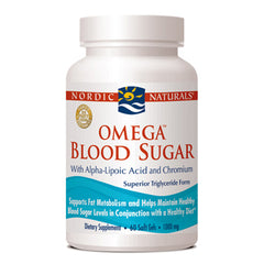 Omega Blood Sugar with Alpha-Lipoic Acid and Chromium 1000 mg - 60 Softgels