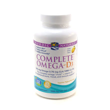 Load image into Gallery viewer, Complete Omega-D3 Lemon 1000 mg - 120 Softgels
