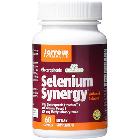 Selenium Synergy Activated Selenium 200mcg- 60 Caps