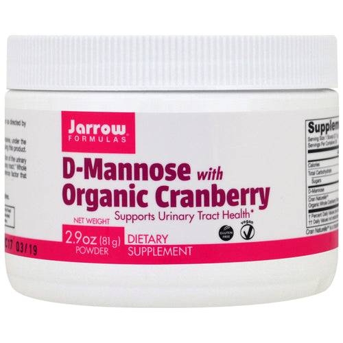 D-Mannose with Organic Cranberry - 2.9 oz
