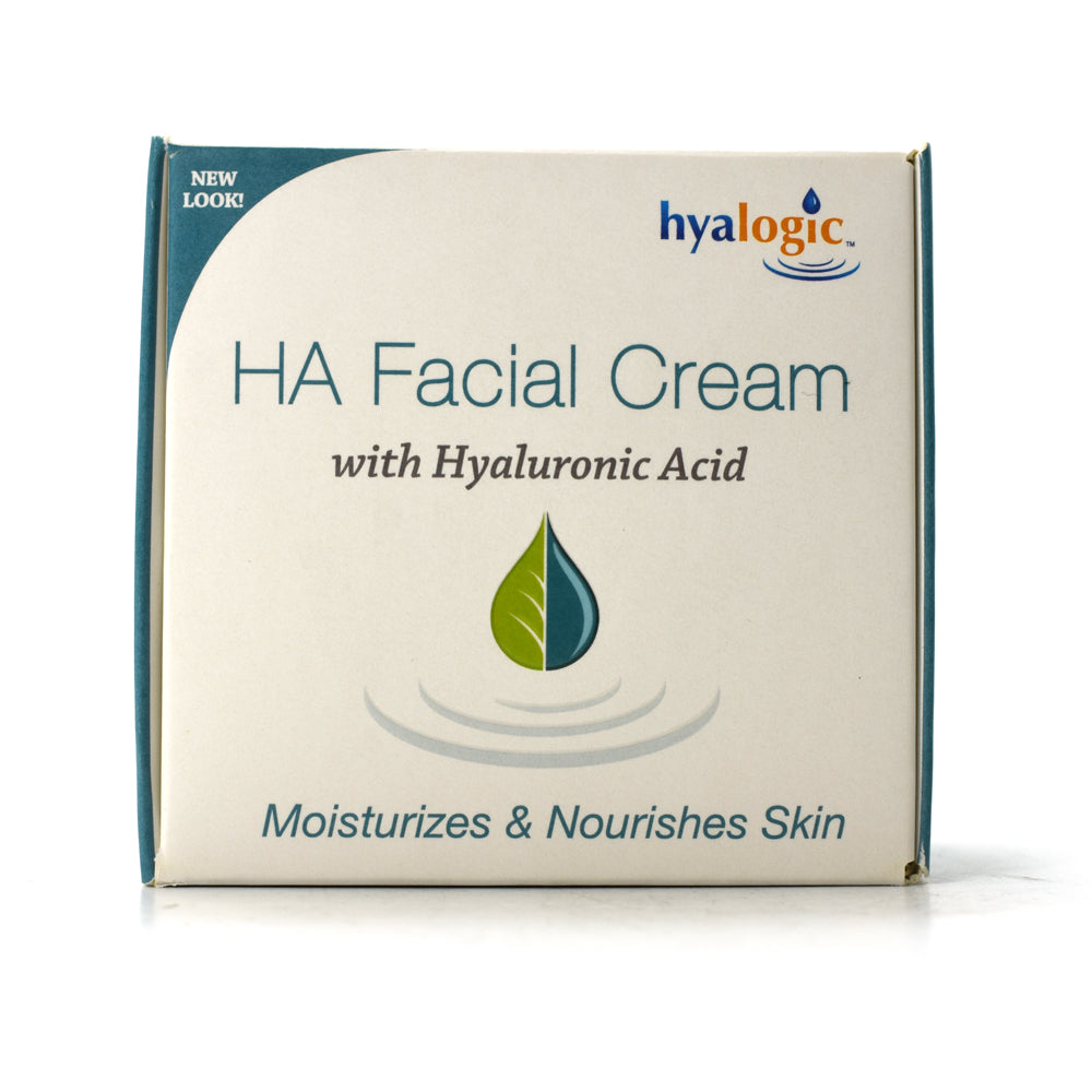 HA Facial Cream with Hyaluronic Acid - 2 oz