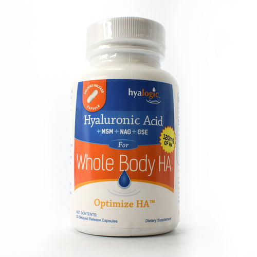 Optimize HA 120 mg of Hyaluronic Acid for Whole Body - 30 Capsules
