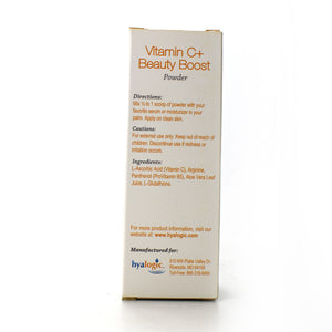 Hyalogic Vitamin C+ Beauty Boost Powder - 0.21 oz