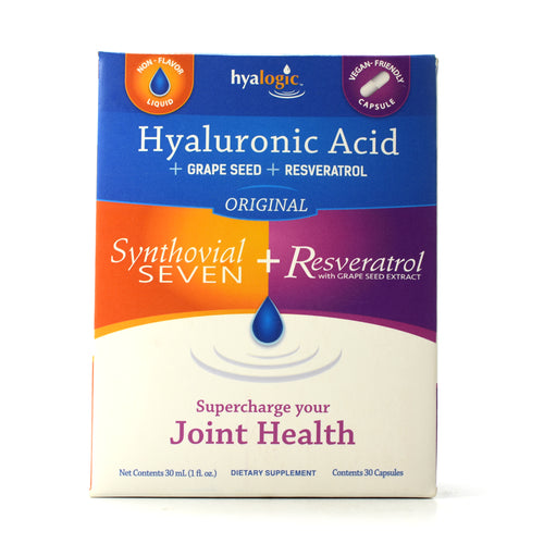 Synthovial Seven Plus Resveratrol with Grape Seed Extract - 1 Kit