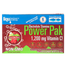 Load image into Gallery viewer, Electrolyte Stamina Power Pak Non-GMO Cherry Lime - 30 Packets