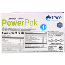 Load image into Gallery viewer, Electrolyte Stamina Power Pak Non-GMO Acai Berry - 30 Packets