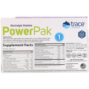 Electrolyte Stamina Power Pak Non-GMO Acai Berry - 30 Packets