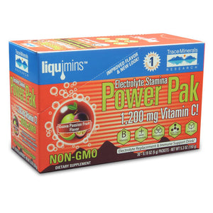 Electrolyte Stamina Power Pak Non-GMO Guava Passion Fruit - 30 Packets