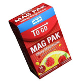 To Go MAG PAK 350mg Magnesium Citrus Raspberry Flavor - 15 Packets