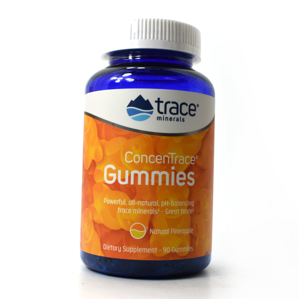 ConcenTrace Gummies - Natural Pineapple - 90 Gummies
