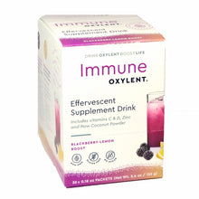 Load image into Gallery viewer, Immune Oxylent Effervescent Supplement Drink Blackberry-Lemon Boost - 30 Packets