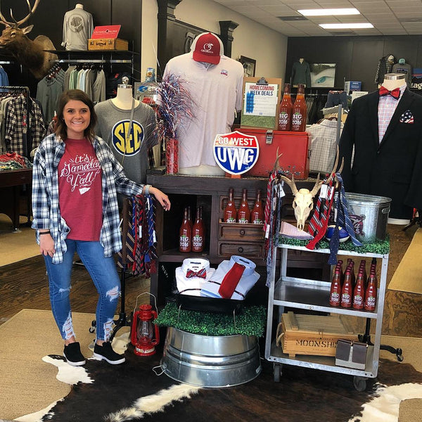 The Squire Shop Celebrates University of West Georgia Homecoming