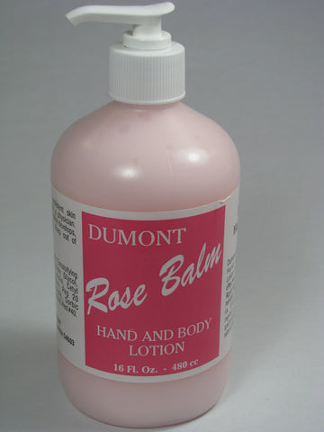 No-Crack Rose Balm Lotion - 16 oz