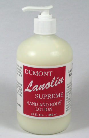 No-Crack Lanolin Supreme Lotion - 16 oz