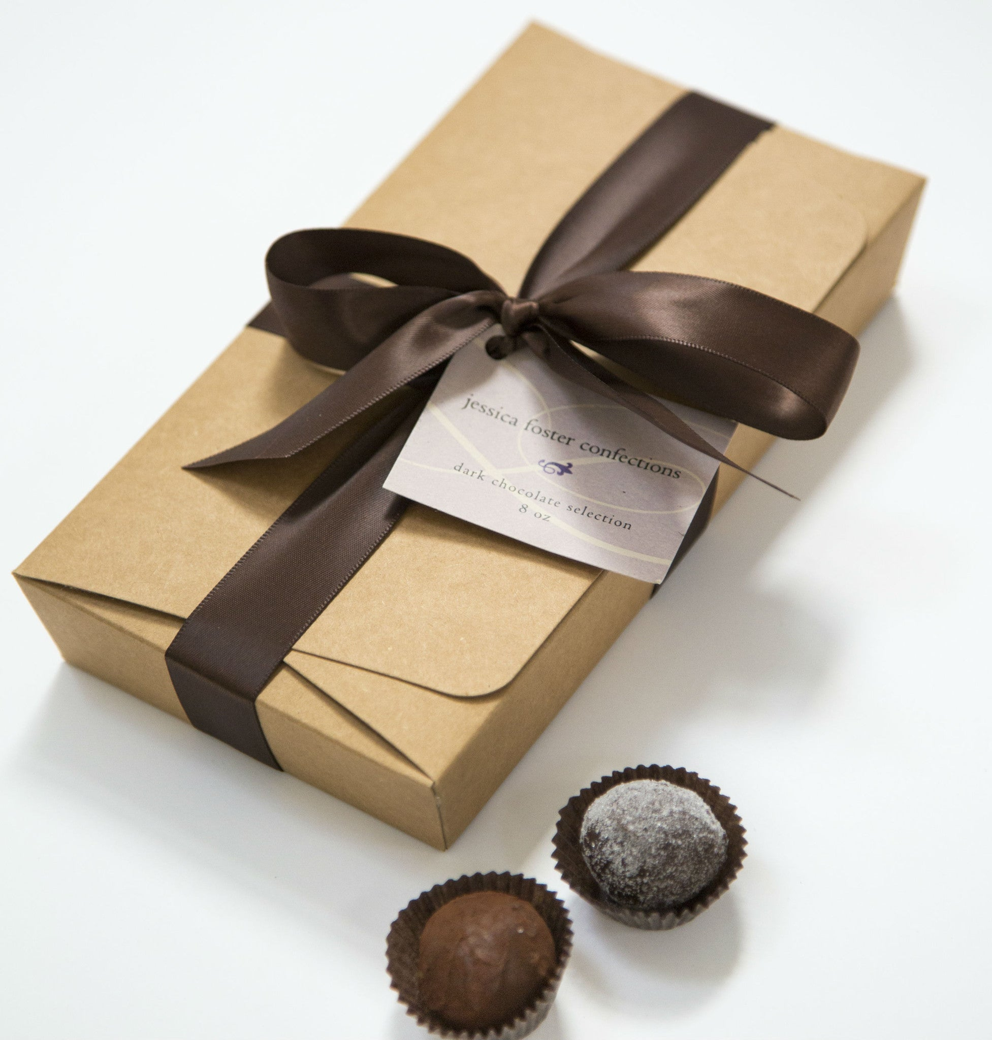18 Piece Dark Chocolate Gift Box