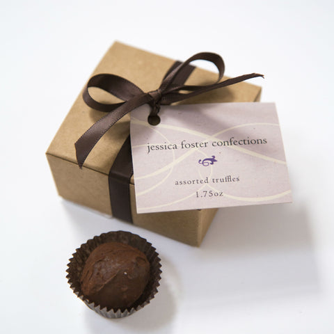 4 Piece Truffle Box