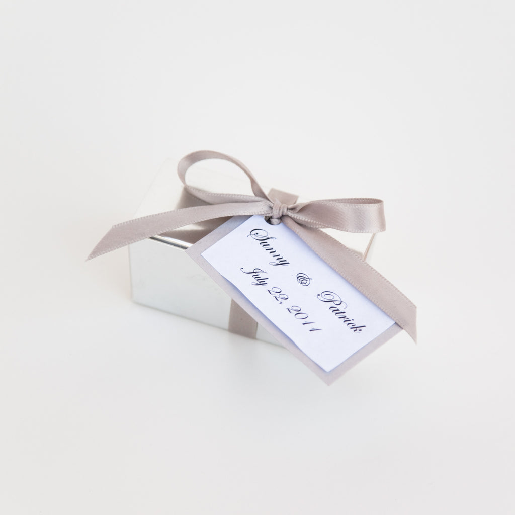 Favor Boxes- 2 or 4 Truffles – Jessica Foster Confections