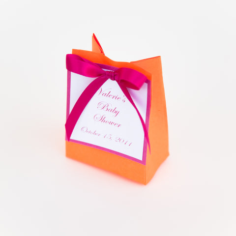 Personalized Handmade Favor Bags- 2 Truffles
