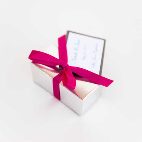 Favor Boxes- 2 or 4 Truffles