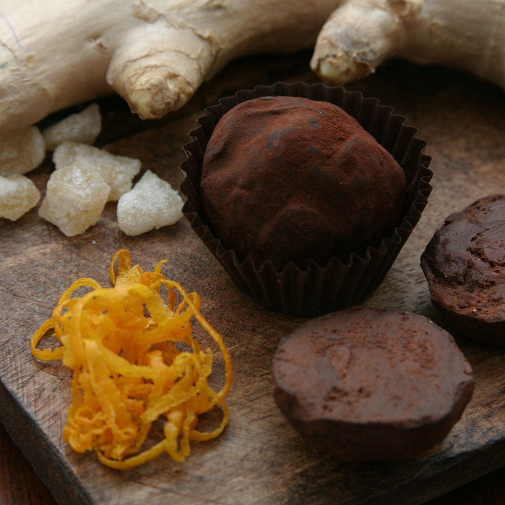 Dark Chocolate Orange-Ginger