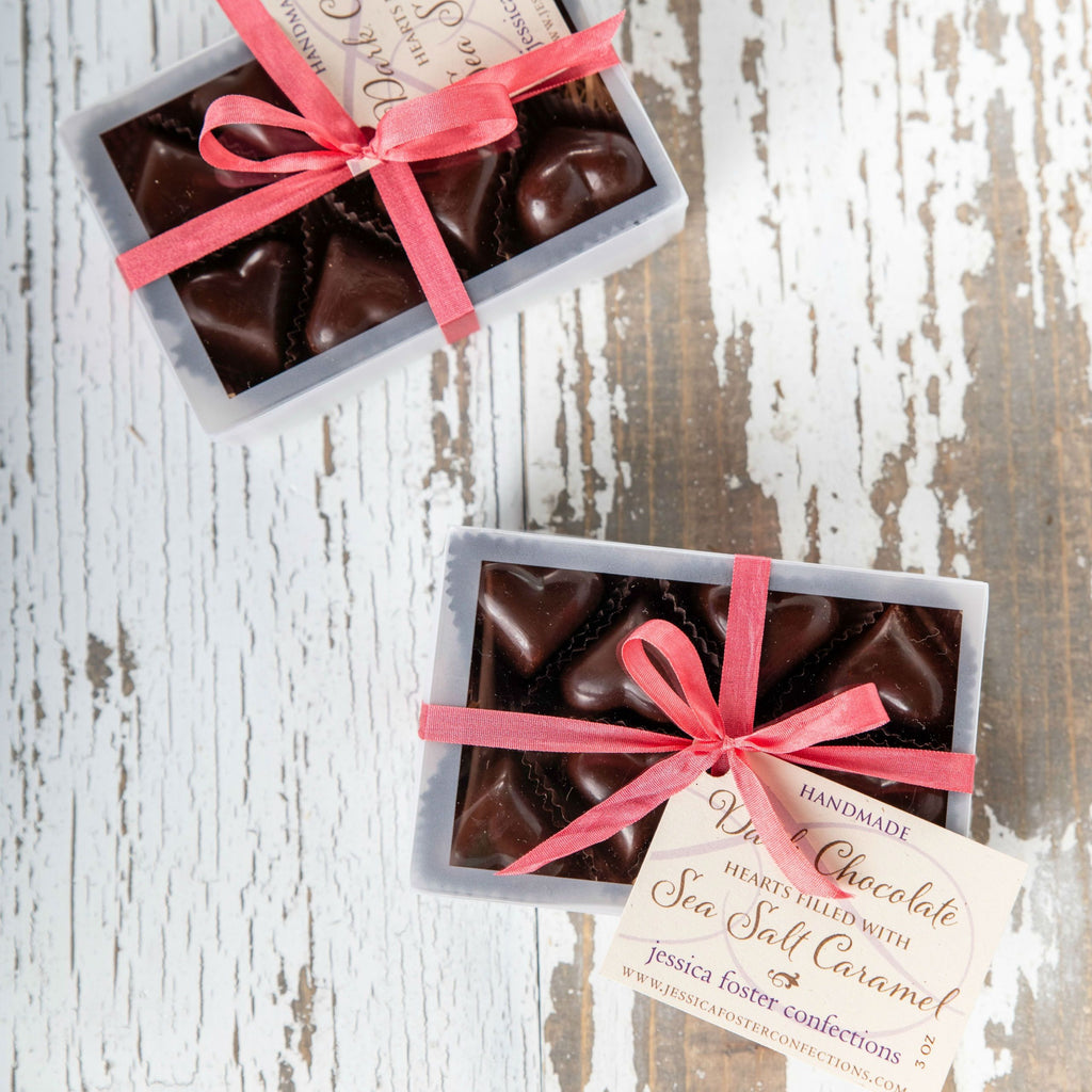 Sea Salt Caramel Heart Bon-Bons