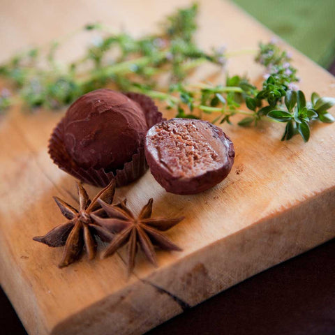 Milk Chocolate Star Anise & Thyme