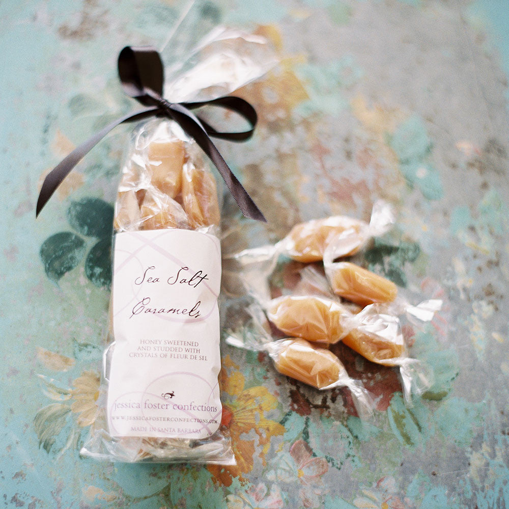 Sea salt caramels - individually wrapped bag of 20
