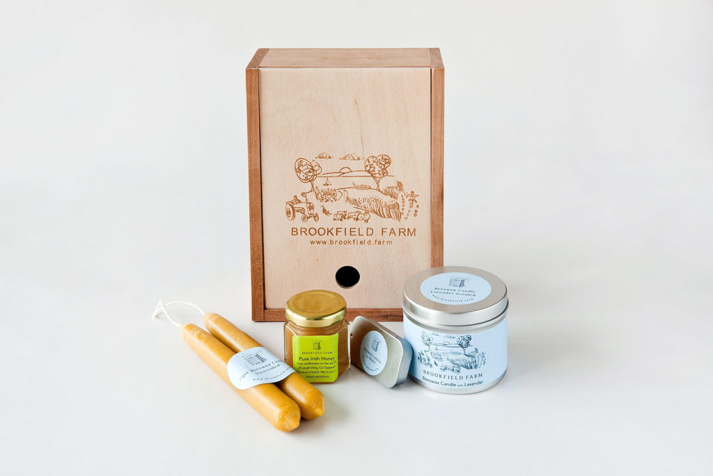 Where to find Brookfield Farm handmade beeswax candles, raw honey and beeswax cosmetics?-Brookfield Farm