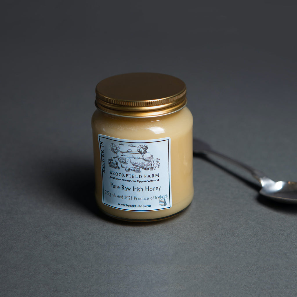 Two Jar Set of Raw Irish Honey