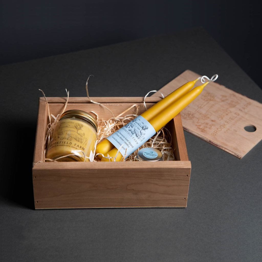 Bee Hive Handmade Cherrywood Gift Box